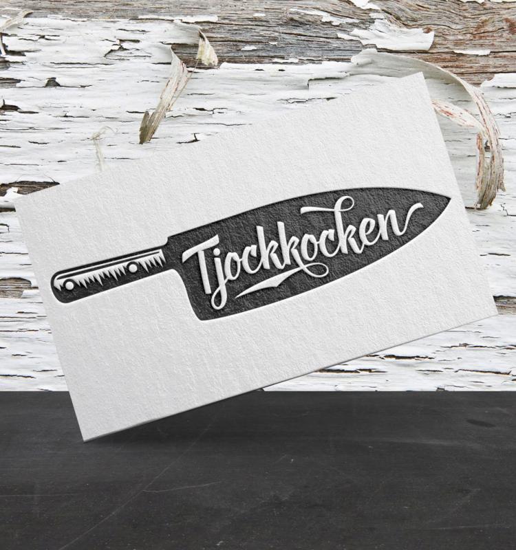 Tjockkocken logo