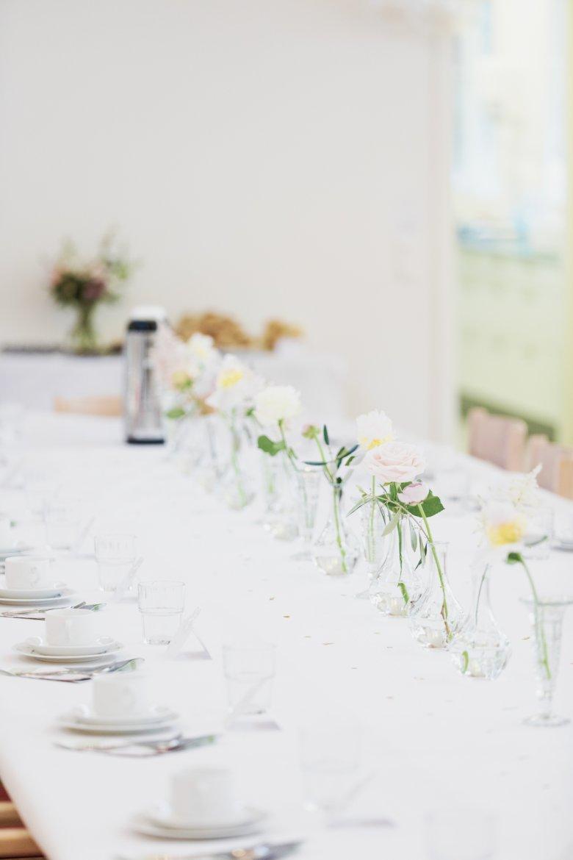 våra fina dekorerade bord