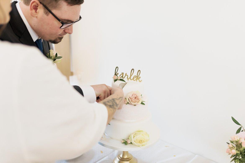 Dags att skära upp tårtan