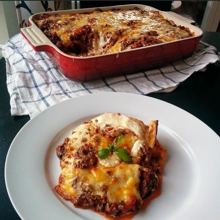 Tjockkockens lasagne